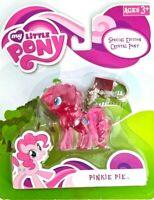 NEW! My Little Pony! Special Edition Crystal Pony Pinkie Pie Keychain Keyring