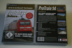 ProTrain Vol. 14 Deluxe - Kassel-Frankfurt (PC, 2010)  ADD ON  NEW    Neu
