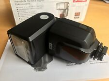 Metz Mecablitz 50 AF-1 Sony Alpha Minolta Fit Digital Flash + Box Instructions