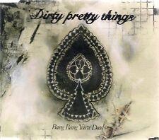 Dirty Pretty Things Bang Bang You're Dead UK CD Single