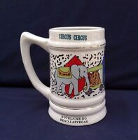 Circus Circus Coffee Mug Hotel Casino Reno Las Vegas Emerald Collection Shows