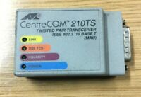 CentreCOM 210 TS Twisted Pair Transceiver IEEE 802.3 10BaseT MAU Ethernet