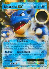 Pokemon Cards Blastoise EX Evolutions Ultra Rare 21/108
