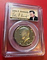 1980 S Kennedy Demi Dollar PCGS PR69DCAM
