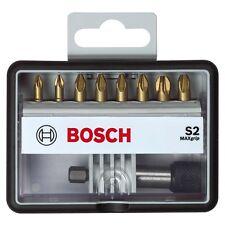 Bosch Max Grip S2 Robust Line 25mm Screw Bit Set  Magnetic Bit Holder 2607002575
