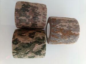 1x Panzertape 4,5 m x 5 cm Tarn Camo Tape Gewebeband Klebeband Geocaching outdoo