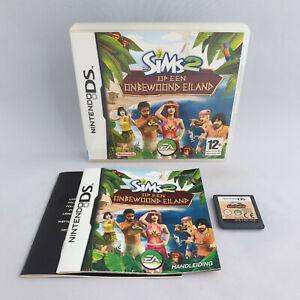 Nintendo DS NDS - De Sims 2 op een Onbewoond Eiland / The Sims 2 Castaway