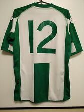 SIZE L Hammarby 2010-2011 Home Football Shirt Jersey Kappa #12