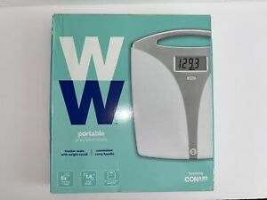 WW Scales Conair Portable Precision Electronic 5x Weight Tracker Carry Handle