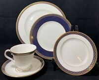 Waterford China Powerscourt 4 Place Settings Service for 5 Discontinued EUC