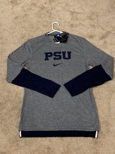Mens (S) Penn State Nittany Lions Nike Sideline Dri-Fit Long Sleeve Tee NWT $70