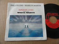 "DISQUE 45T THEME DU FILM "" WHITE NIGHTS "" PAR PHIL COLLINS & MARILYN MARTIN"