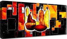 Quadro Moderno Cm 100x50 Stampa Tela Arredamento Arte Arredo Casa Africa Etnico