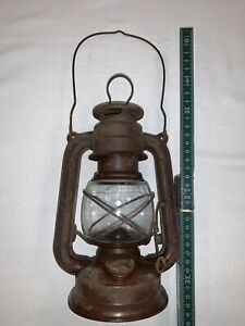 Alte Frowo Petroleum Lampe Sturmlaterne Nr 55 DDR ? Selten Ähnlich Feuerhand