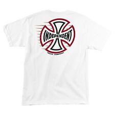 Independent Trucks Tc Speeding Cross Skateboard Shirt White Large