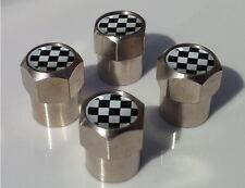 Masónico accidentada Bandera Aluminio neumático válvula Tapas De Aleación Para Coche Llanta Rueda