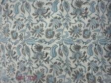 10 yard Indian Hand Made pure cotton fabric hand block print fabric Indian fabri