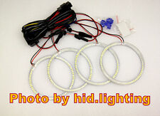 BMW E30 E32 E34 Angel Eye Halo Light Ring LED SMD White 3 5 7 series 6000K
