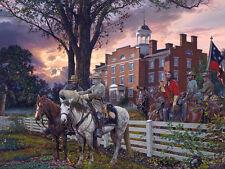 """Sunrise Strategy"" John Paul Strain Civil War Artist Proof w/Remarques"