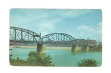 NEW KENSINGTON PA Works 9th Street Bridge Vtg Postcard