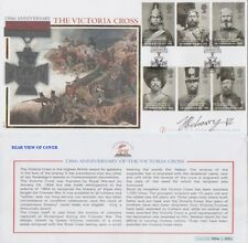 JOHNSON BEHARRY Signed Ltd Ed FDC 204/250 150th Anniversary VICTORIA CROSS COA