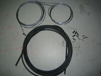 Full Bike Brake and Gear Cable Set  Front + Rear 4m Outer 2 x Inner brake + gear