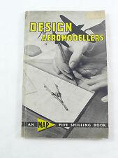 aeromodellismo DESIGN FOR AEROMODELLERS 1963  book aeromodelling AEROMODELLER