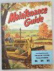 Caterpillar Maintenance Guide D6 D4 D2, 1950s