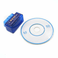 Bluetooth Diagnostic Mini ELM327 V2.1 OBD2 II Car Interface Scanner