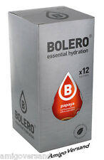 Bolero Drinks with Stevia-Papaya - 12 Pouches for 18-36 Litre Drink