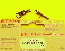 hornby international ho spares hs1000 1x coupling pack suits hl6000/01/08/09/26