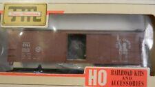 Train Miniature HO Jersey Central 40' Steel Boxcar Kit, NIB