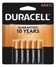 10 Pack Duracell AAA Alkaline 1.5V Batteries