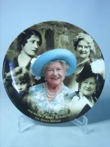 Wedgwood IN LOVING MEMORY Queen Elizabeth Queen Mother COA Danbury Mint Coalport