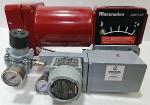 MASONEILAN CAMFLEX II W/ 4000 I/P CONVERTER W/ MASONEILAN CONTROL VALVE 35-35212