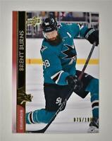 2020-21 UD Series 2 Base Exclusives #396 Brent Burns /100 - San Jose Sharks