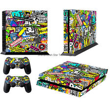 Colorful bomb Game 3 Decal Sticker For PS4 Playstation 4 Console&Controller Skin