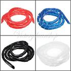 Spiral Wrap Cable Binding Tidy Hide Lead on TV PC Home Cinema CCTV Wire Sleeve G