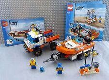 LEGO City Strand-Truck der Küstenwache mit Schnellboot (LE 7726-535)
