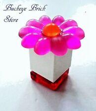 LEGO Belville Minfig PERFUME BOX Jar Powder Box w/Trans PINK Flower