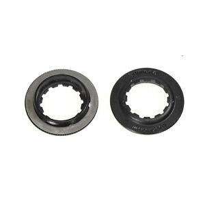 1 or 2 Shimano XTR SM-RT99/ XT SM-RT81 Center Lock Disc Brake Lock Ring W/Washer