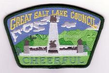 Great Salt Lake Council SA-176 2007 FOS csp Scout Law Cheerful Mint Condition