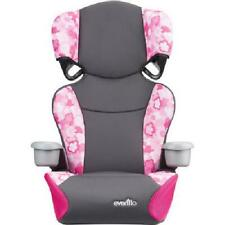 Kids Booster Car Seat 6 Height Adjustable Removable High Back 4 yrs and Up Girls