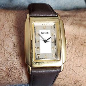 Nice 1996 Guess Men's Dress Watch - Two-tone Dial