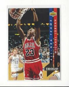1993-94 Upper Deck All-NBA #AN15 Michael Jordan Bulls