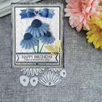 Petal Metal Cutting Dies Stencil Scrapbooking Album Paper Card Embossing DIY New