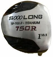 """+2"""" LONG 10.5° ILLEGAL NON CONFORMING 750cc BLACK INTEGRA HUGE DRIVER - REGULAR"""