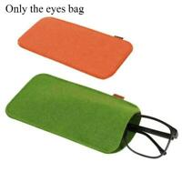 Eyeglass Case Pouch Glasses Sunglasses Case Sleeve Cosmetic 9*18cm Bag I3S3