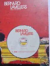 BERNARD LAVILLIERS ARRET SUR.. CD SAMPLER PROMO +ENCART