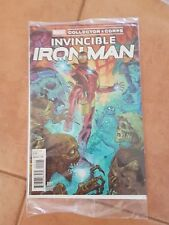 Invincible Iron Man #001 Marvel Collector's Corp Variant Cover.